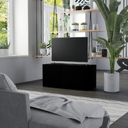 TV Cabinet Black 80x34x36 cm Chipboard