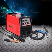 Giantz 300 Amp Inverter Welder DC MIG MMA Gas Gasless Welding Machine Portable