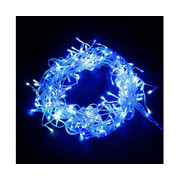 Jingle Jollys 800 LED Christmas Icicle Lights Blue