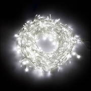 Jingle Jollys 800 LED Christmas Icicle Lights Cold White