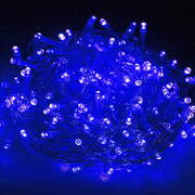 Jingle Jollys 50M 250 LED Christmas String Lights Blue