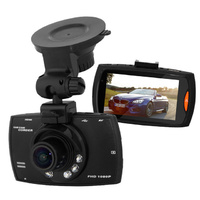 "2.7"" Car DVR Camera 1920x1080P FHD H.264 Gsensor WDR Night Vision 170 Wide Angle"