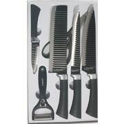6-piece Zepter knife set Black