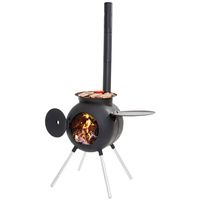 Ozpig Outdoor Wood Fired Portable Camp Outdoor Barbecue BBQ