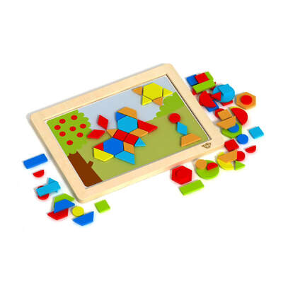 Magnetic Puzzle - Shapes